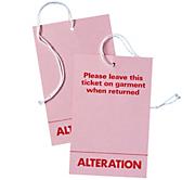 Alteration Ticket