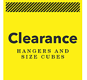 CLEARANCE - Hangers & Cubes