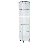 Economy Frameless Display Cabinets