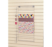 Slatwall Giftwrap & Tag Dispenser