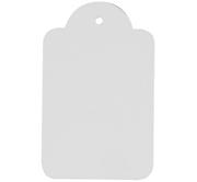 Premium Quality White M-Tags - Unstrung