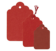 Red Swing Tags