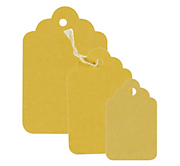 Yellow Swing Tags