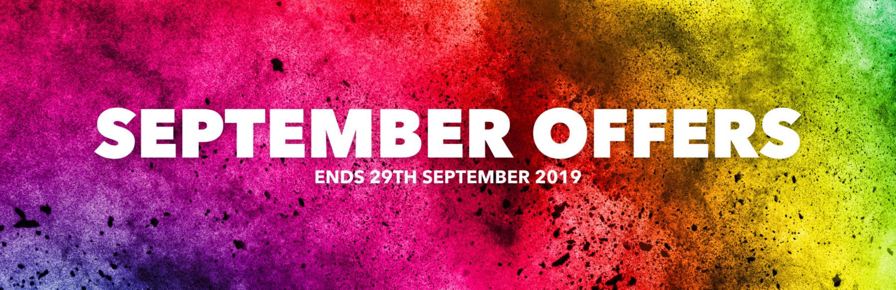 September Offers