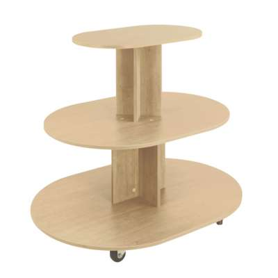 Maple 3-Tier Oval Gondolas