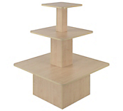 Maple 3-Tier Square Gondolas
