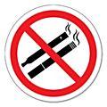 No Smoking or Vaping Signs-  No Smoking or Vaping Signs - 80mm - Each -41876