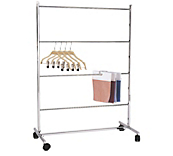 4-Tier Clothes Hanging Rails
