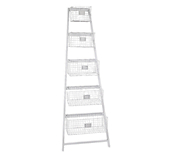 5 Baskets Display ladder