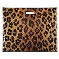 Animal Print Carrier Bags, Leopard print - 56 x 45 x 8cm -