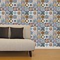 Mural Mediterranean Tiles - 108 x 108cm-  Pack of 1 -89814
