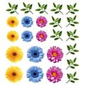Spring Flowers  Assorted Window Cling - 60 x 65cm-  Each -90210
