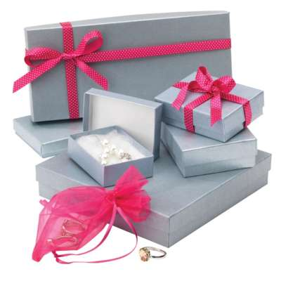 Accessory Gift Boxes Silver