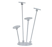 Acrylic Hat Stands - Multi