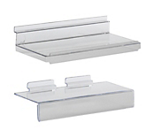 Acrylic Slatwall Shelf with Strip