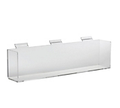 Acrylic Slatwall Shelves for Boxes