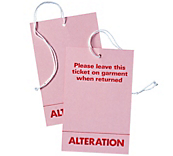 Alteration Ticket