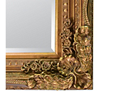 Antique Ornate Mirror Gold