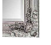 Antique Ornate Mirror Silver