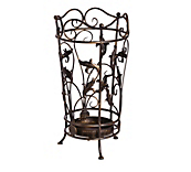 Antique Umbrella Stand Black