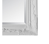 Antique White Mirrors