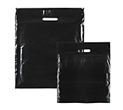 Black Plastic Carrier Bags