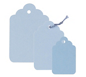 Blue Swing Tags