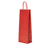 Bottle Carrier Bags - Red
