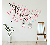 Branch cherry blossom sticker