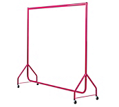 Pink Clothes Rails