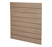 Brown Wood Slatwall Panels
