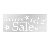 Summer Window Cling Range