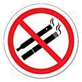 No Smoking or Vaping Signs-  No Smoking or Vaping Signs - 80mm - Each -CP41876