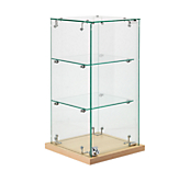 Glass Countertop Display Cabinets