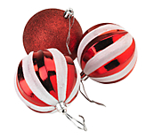 Candy Stripe Bauble