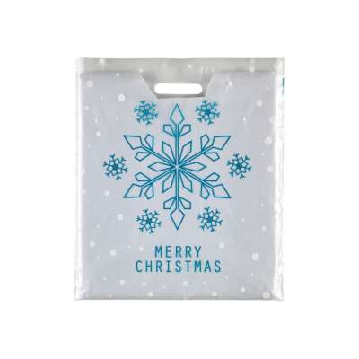 Christmas Bag Frosted