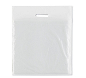 Lightweight White Plastic Carrier Bags