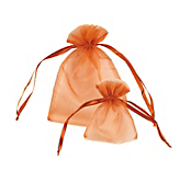 Copper Organza Bags