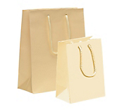 Cream Paper Carrier Bags