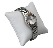 Deluxe White Leatherette Jewellery Cushions