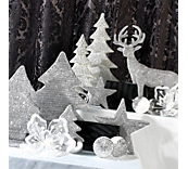 Silver Dinner Party Christmas Theme