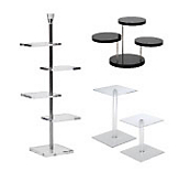 Tiered Acrylic Display Stands