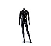 Economy Black Headless Female Mannequins