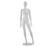 Economy White Sculpted Female Mannequins