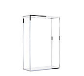 Gloss White Wall Mounted Display Boxes