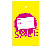 Electric Sale Hanger Tickets