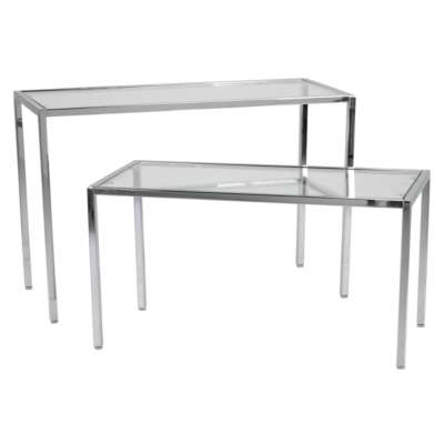 Queen Vogue Chrome - Display Tables
