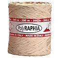 Raffia Ribbon - Brown - 200m-  Per Roll -F51994