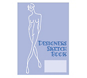Fashion Designers Sketch Book