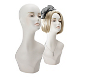 Female Mannequin Head & Shoulders